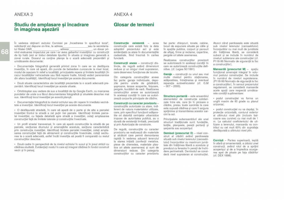 Pagina 70 - Zona Gorj - Ghid de arhitectura pentru incadrarea in specificul local din mediul rural  ...