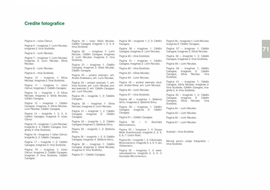 Pagina 73 - Zona Gorj - Ghid de arhitectura pentru incadrarea in specificul local din mediul rural  ...