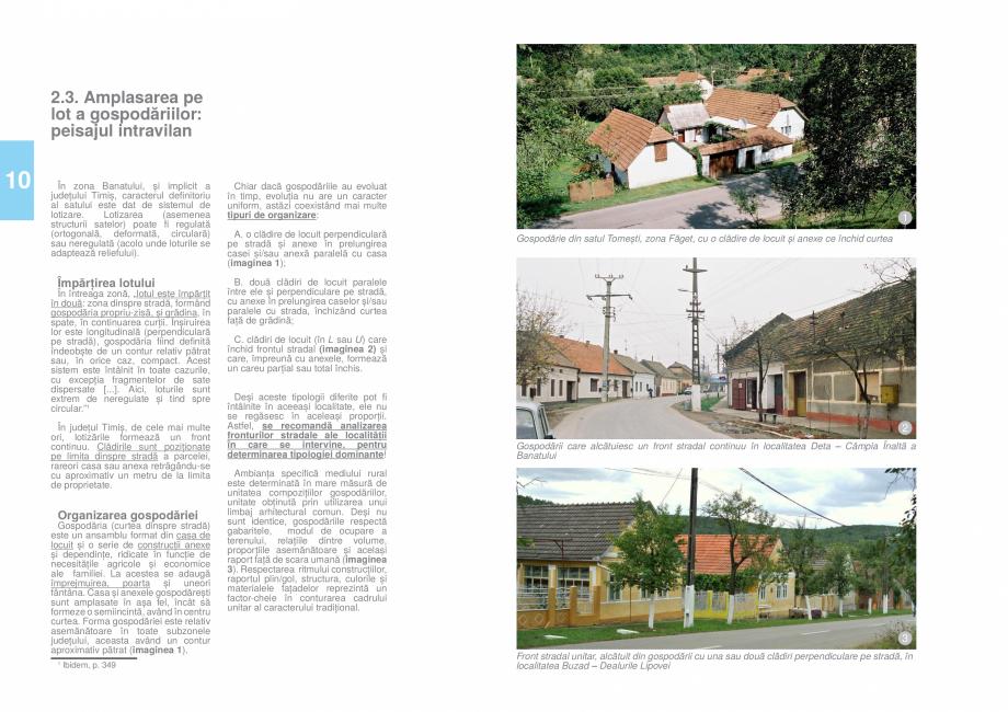 Pagina 12 - Zona Timis - Ghid de arhitectura pentru incadrarea in specificul local din mediul rural ...