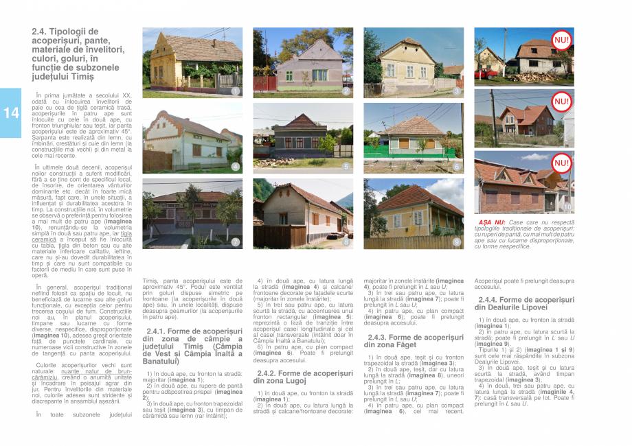 Pagina 16 - Zona Timis - Ghid de arhitectura pentru incadrarea in specificul local din mediul rural ...