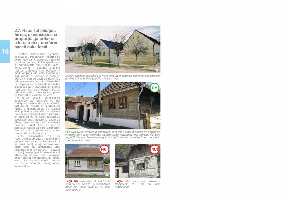 Pagina 18 - Zona Timis - Ghid de arhitectura pentru incadrarea in specificul local din mediul rural ...
