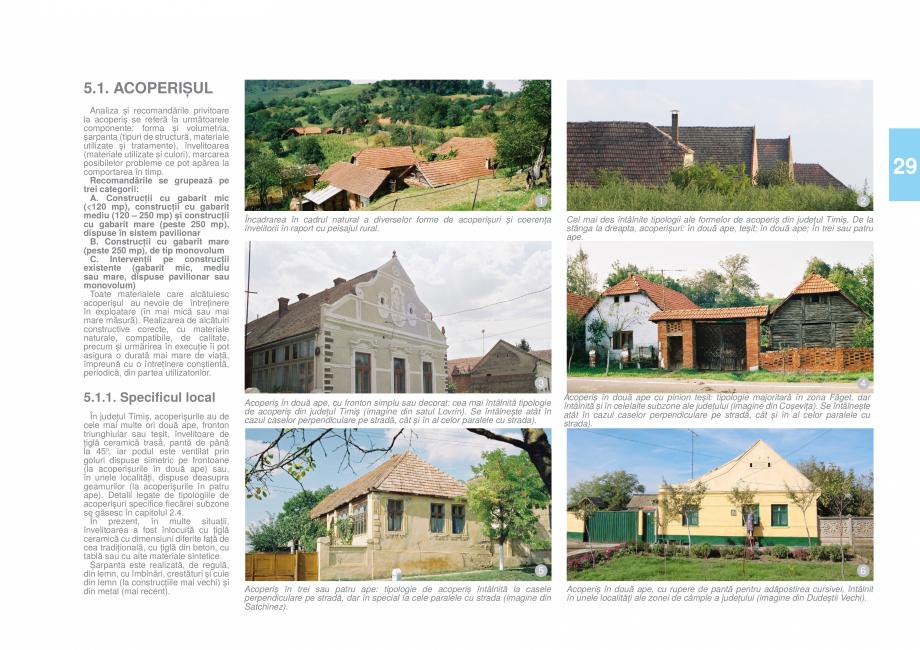 Pagina 31 - Zona Timis - Ghid de arhitectura pentru incadrarea in specificul local din mediul rural ...