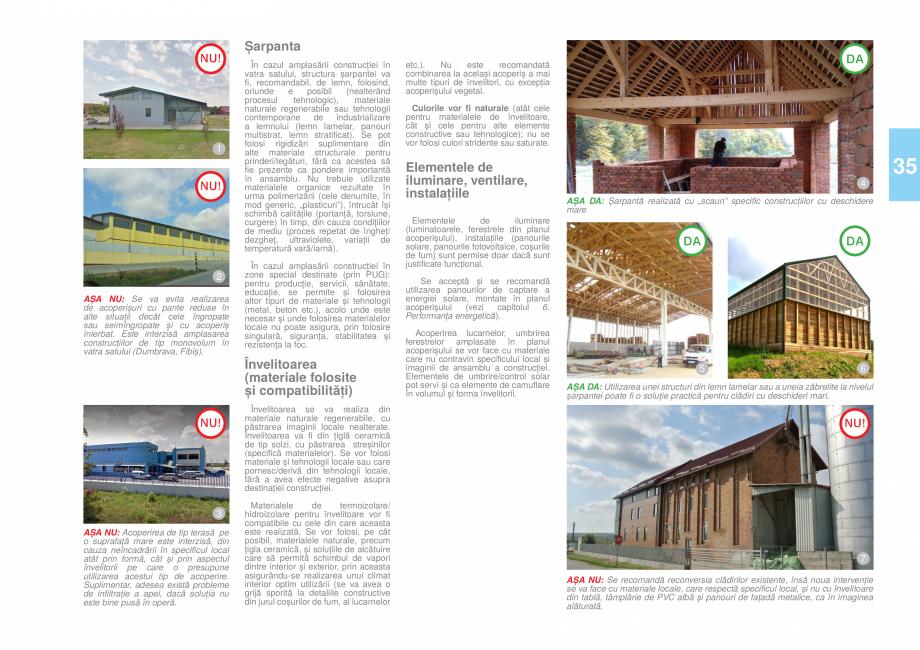 Pagina 37 - Zona Timis - Ghid de arhitectura pentru incadrarea in specificul local din mediul rural ...