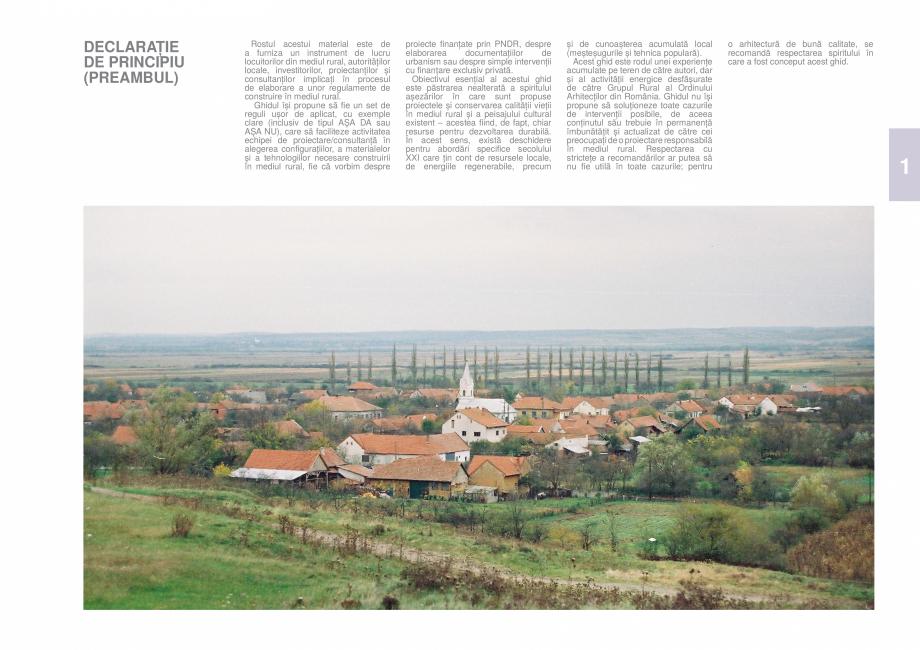 Pagina 40 - Zona Timis - Ghid de arhitectura pentru incadrarea in specificul local din mediul rural ...