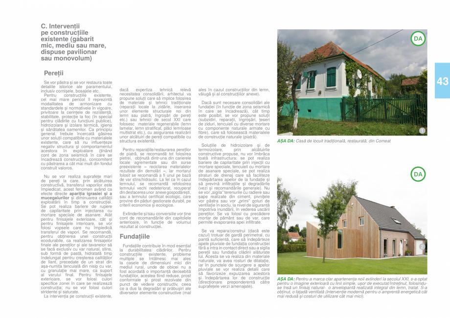 Pagina 46 - Zona Timis - Ghid de arhitectura pentru incadrarea in specificul local din mediul rural ...