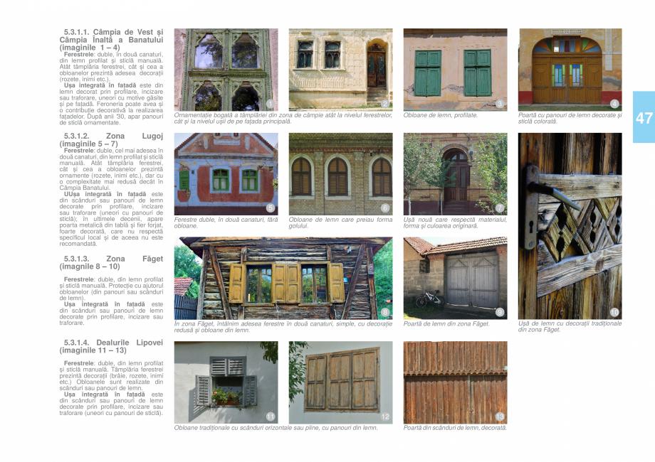 Pagina 50 - Zona Timis - Ghid de arhitectura pentru incadrarea in specificul local din mediul rural ...