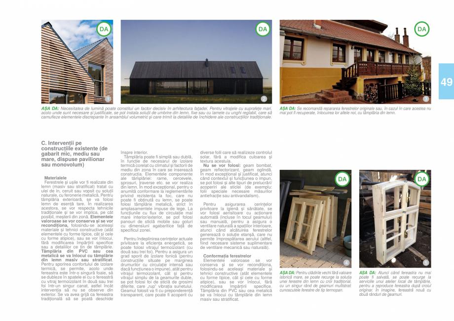 Pagina 52 - Zona Timis - Ghid de arhitectura pentru incadrarea in specificul local din mediul rural ...