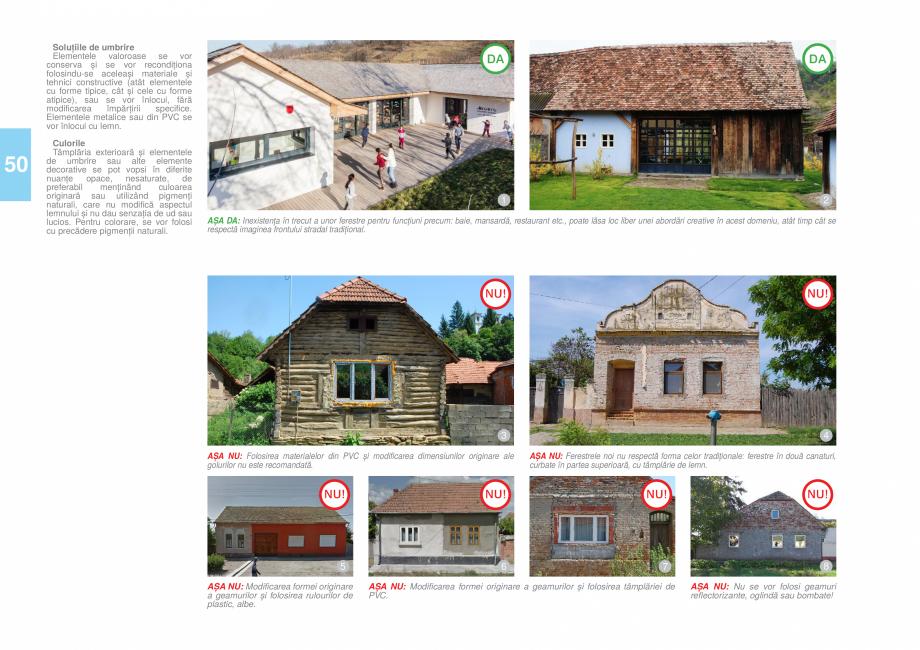 Pagina 53 - Zona Timis - Ghid de arhitectura pentru incadrarea in specificul local din mediul rural ...