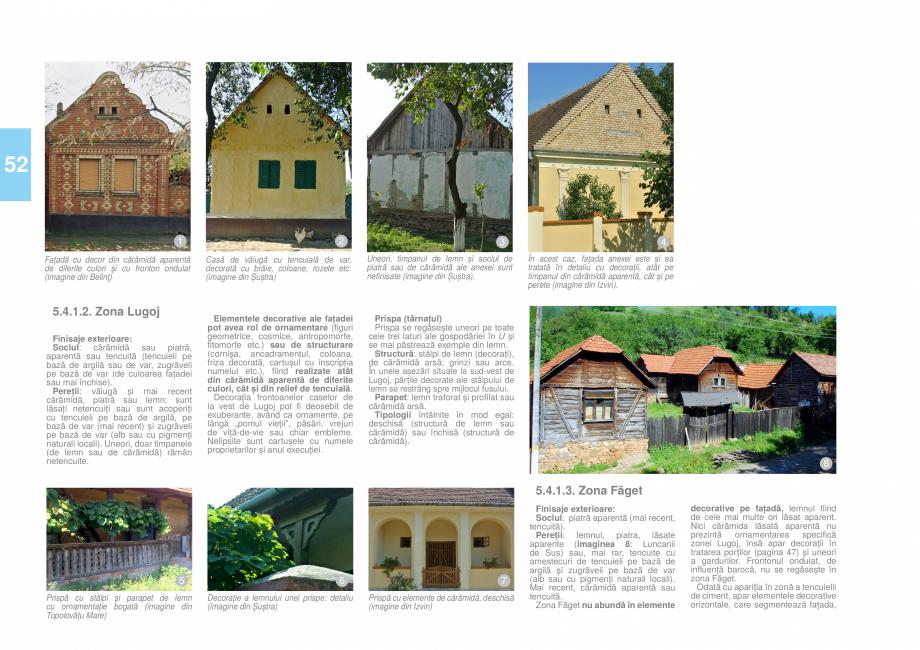 Pagina 55 - Zona Timis - Ghid de arhitectura pentru incadrarea in specificul local din mediul rural ...