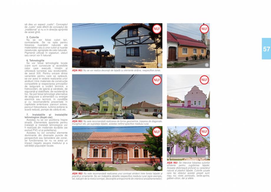 Pagina 60 - Zona Timis - Ghid de arhitectura pentru incadrarea in specificul local din mediul rural ...