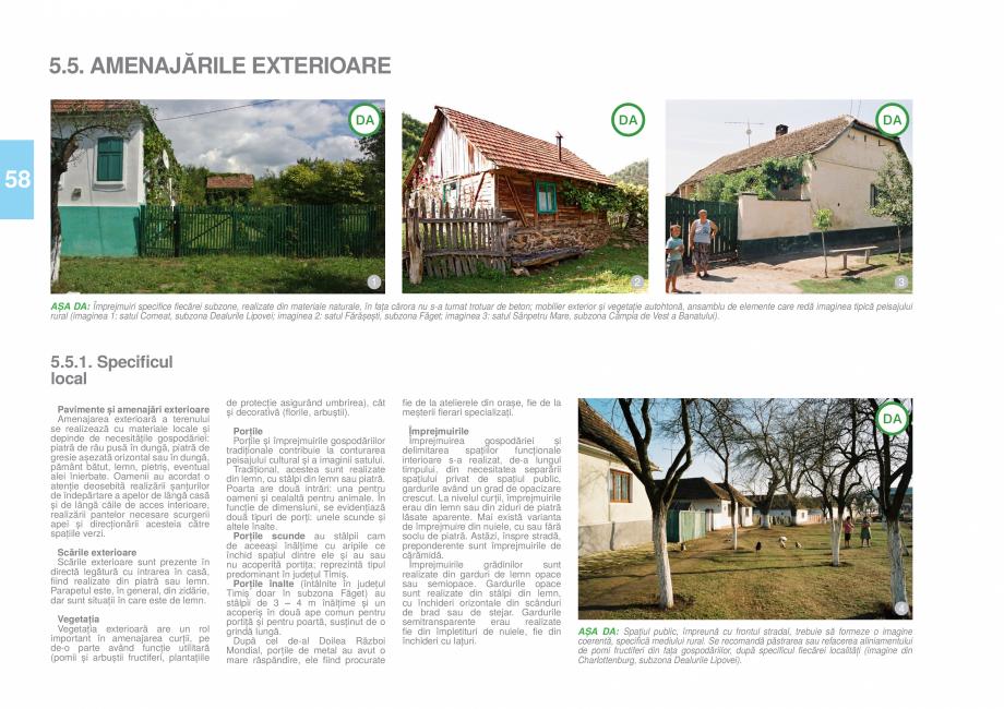 Pagina 61 - Zona Timis - Ghid de arhitectura pentru incadrarea in specificul local din mediul rural ...