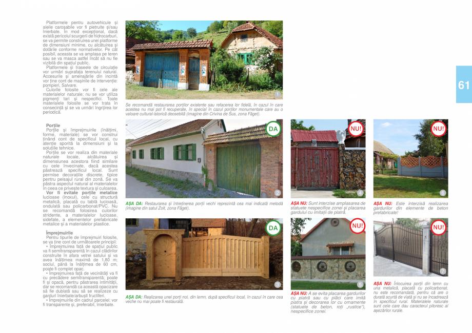 Pagina 64 - Zona Timis - Ghid de arhitectura pentru incadrarea in specificul local din mediul rural ...