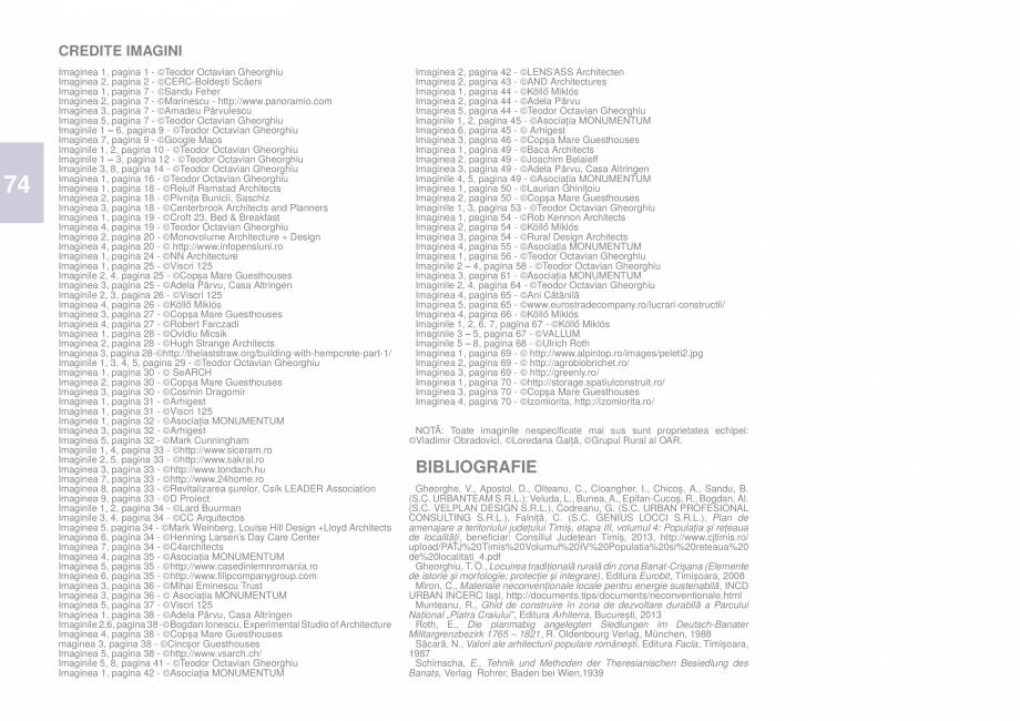 Pagina 77 - Zona Timis - Ghid de arhitectura pentru incadrarea in specificul local din mediul rural ...