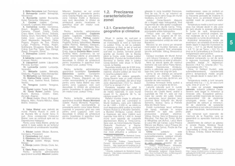 Pagina 7 - Zona Caras Severin - Ghid de arhitectura pentru incadrarea in specificul local din mediul...