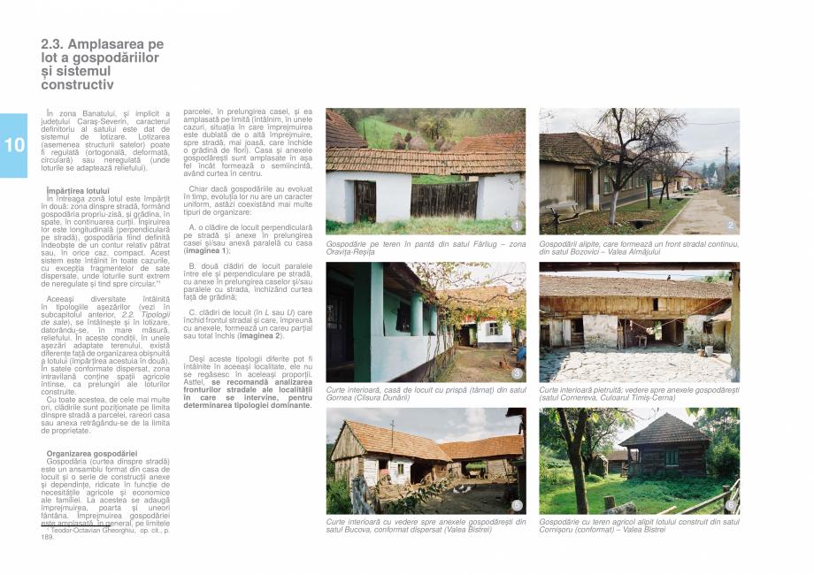 Pagina 12 - Zona Caras Severin - Ghid de arhitectura pentru incadrarea in specificul local din...