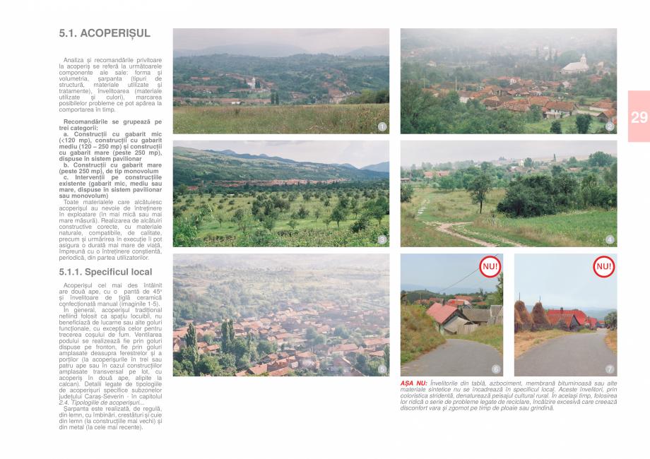 Pagina 31 - Zona Caras Severin - Ghid de arhitectura pentru incadrarea in specificul local din...
