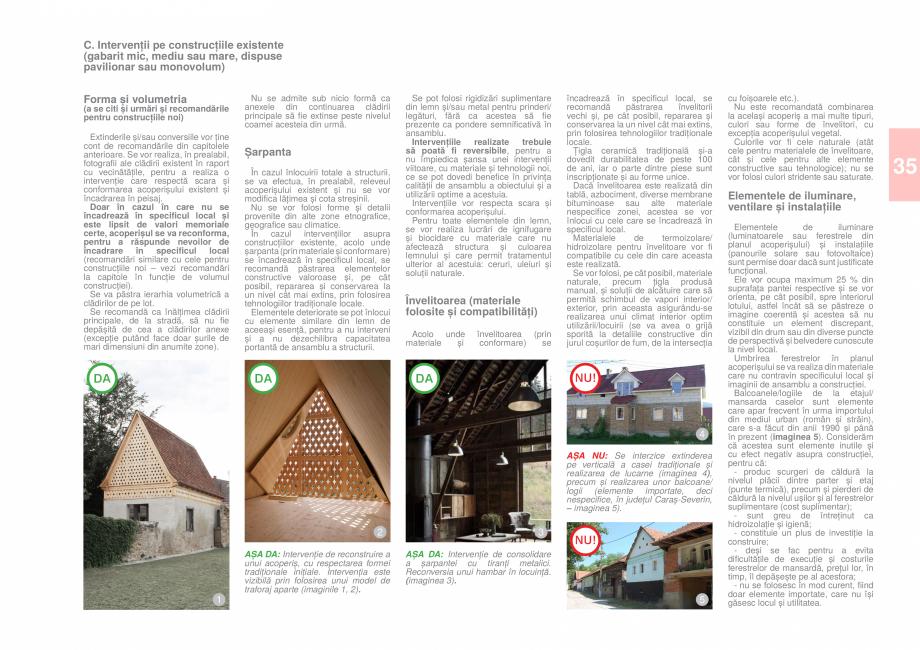 Pagina 37 - Zona Caras Severin - Ghid de arhitectura pentru incadrarea in specificul local din...