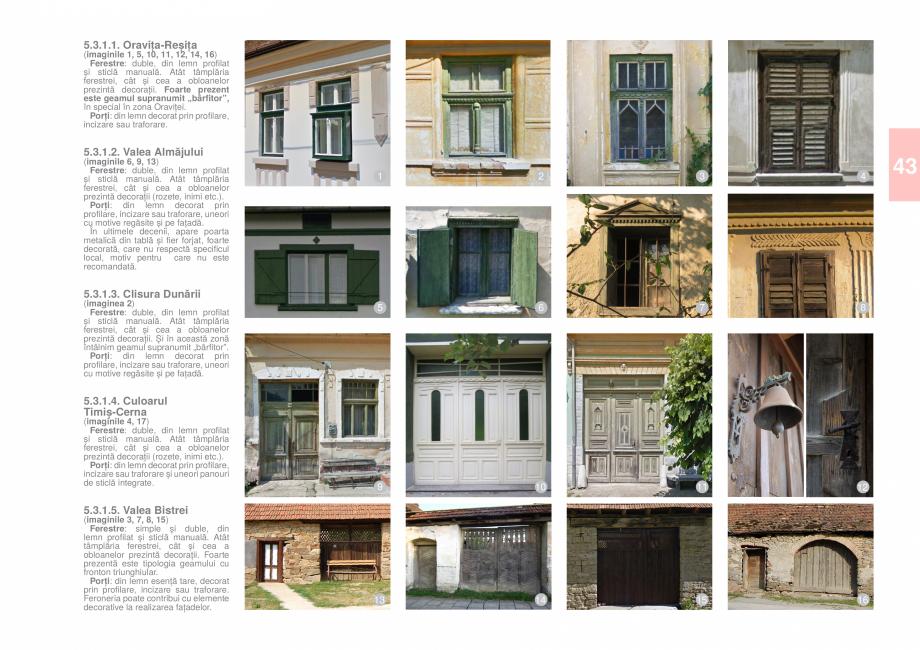 Pagina 45 - Zona Caras Severin - Ghid de arhitectura pentru incadrarea in specificul local din...