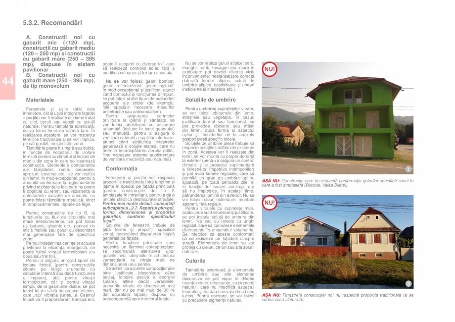 Pagina 46 - Zona Caras Severin - Ghid de arhitectura pentru incadrarea in specificul local din...