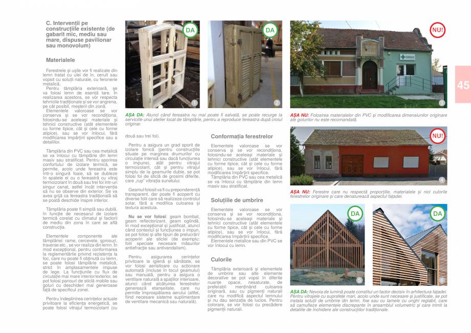 Pagina 47 - Zona Caras Severin - Ghid de arhitectura pentru incadrarea in specificul local din...