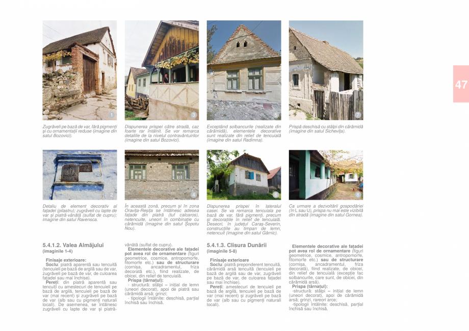 Pagina 49 - Zona Caras Severin - Ghid de arhitectura pentru incadrarea in specificul local din...