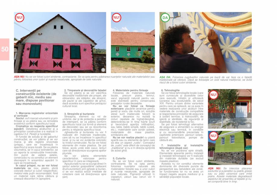 Pagina 52 - Zona Caras Severin - Ghid de arhitectura pentru incadrarea in specificul local din...