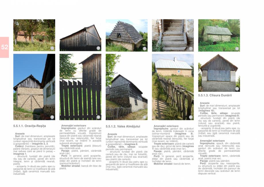 Pagina 54 - Zona Caras Severin - Ghid de arhitectura pentru incadrarea in specificul local din...