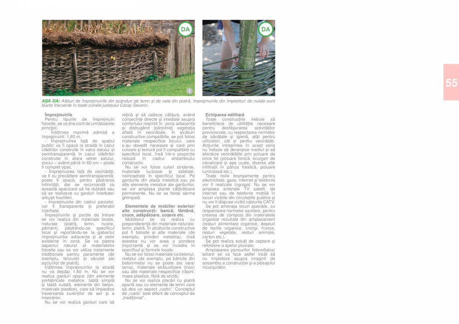 Pagina 57 - Zona Caras Severin - Ghid de arhitectura pentru incadrarea in specificul local din...
