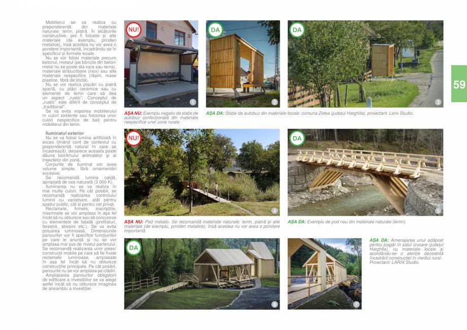 Pagina 61 - Zona Caras Severin - Ghid de arhitectura pentru incadrarea in specificul local din...