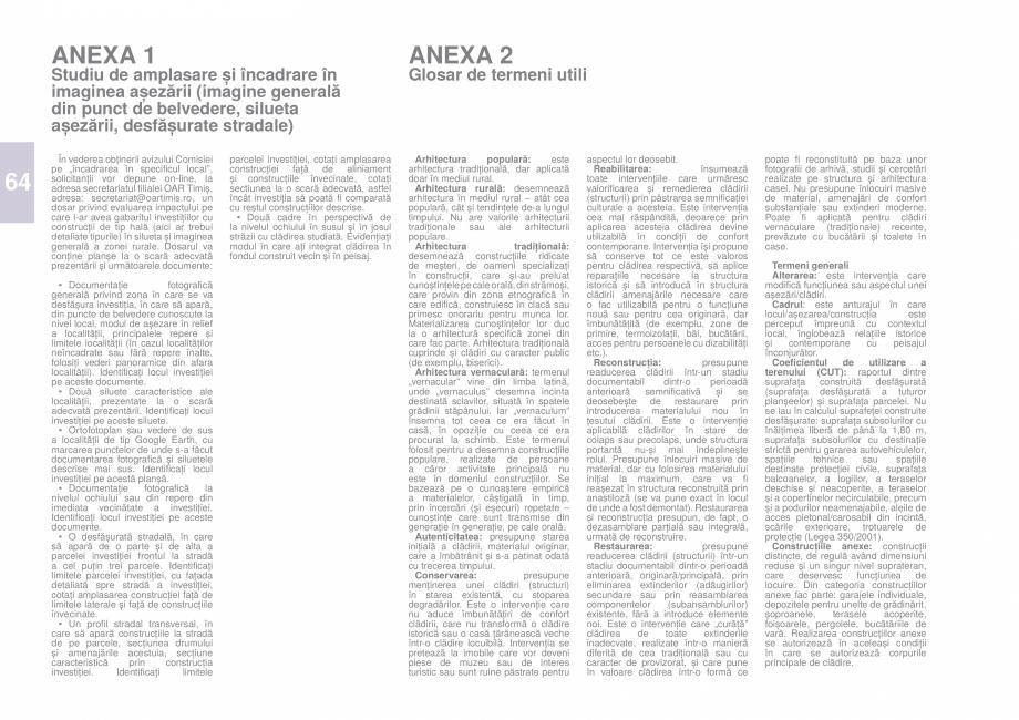 Pagina 66 - Zona Caras Severin - Ghid de arhitectura pentru incadrarea in specificul local din...