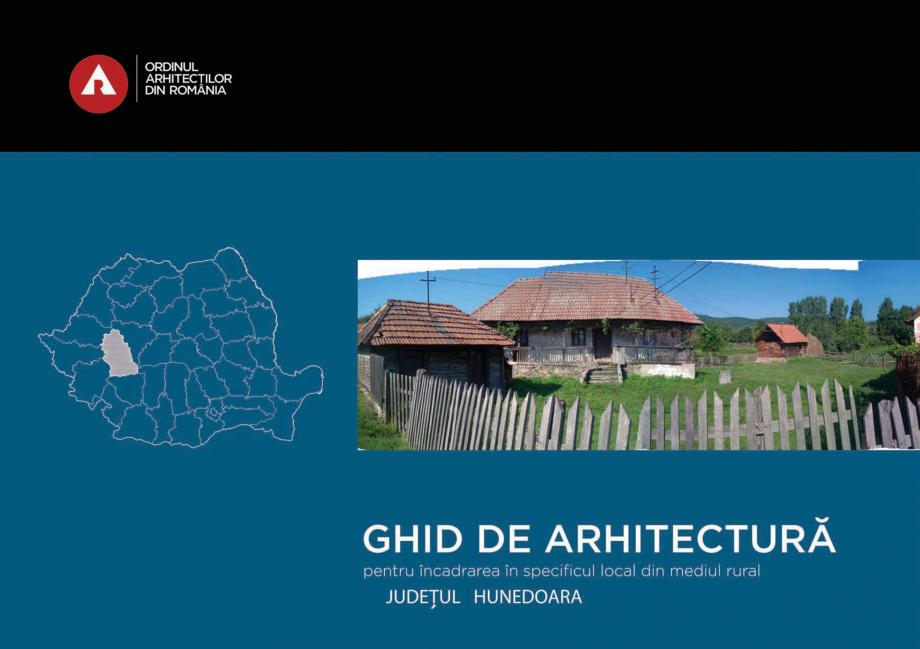 Pagina 1 - Zona Hunedoara - Ghid de arhitectura pentru incadrarea in specificul local din mediul...