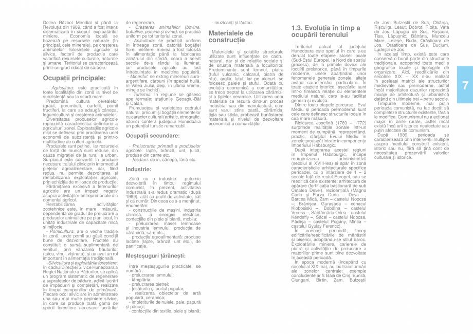 Pagina 8 - Zona Hunedoara - Ghid de arhitectura pentru incadrarea in specificul local din mediul...