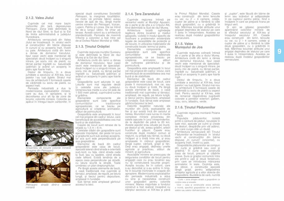 Pagina 10 - Zona Hunedoara - Ghid de arhitectura pentru incadrarea in specificul local din mediul...