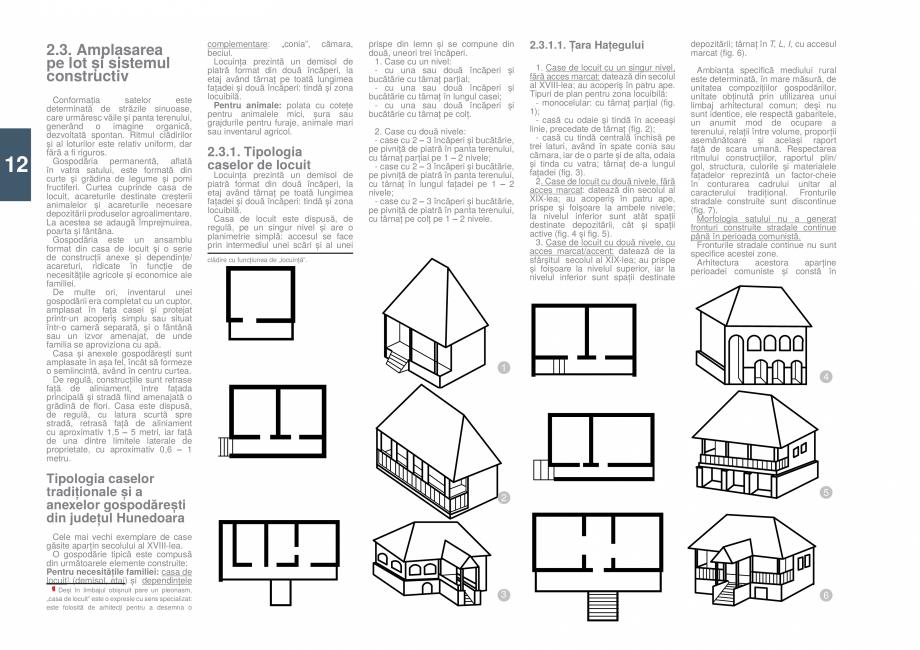 Pagina 13 - Zona Hunedoara - Ghid de arhitectura pentru incadrarea in specificul local din mediul...