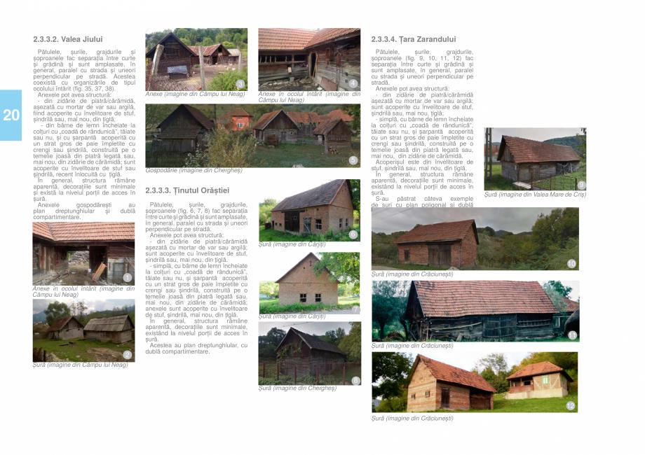 Pagina 21 - Zona Hunedoara - Ghid de arhitectura pentru incadrarea in specificul local din mediul...