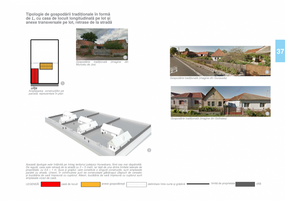 Pagina 38 - Zona Hunedoara - Ghid de arhitectura pentru incadrarea in specificul local din mediul...