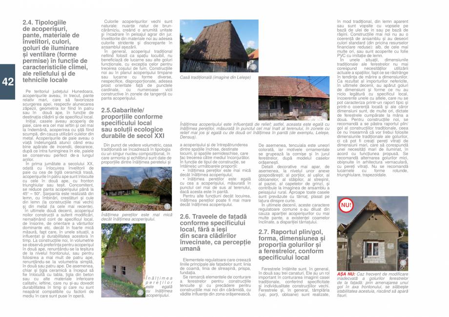 Pagina 43 - Zona Hunedoara - Ghid de arhitectura pentru incadrarea in specificul local din mediul...