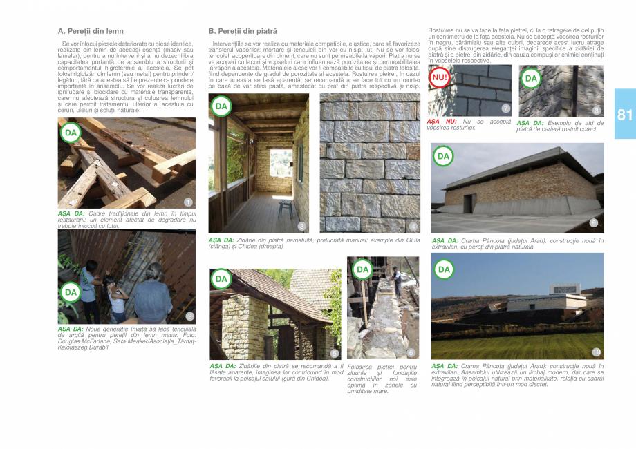 Pagina 82 - Zona Hunedoara - Ghid de arhitectura pentru incadrarea in specificul local din mediul...