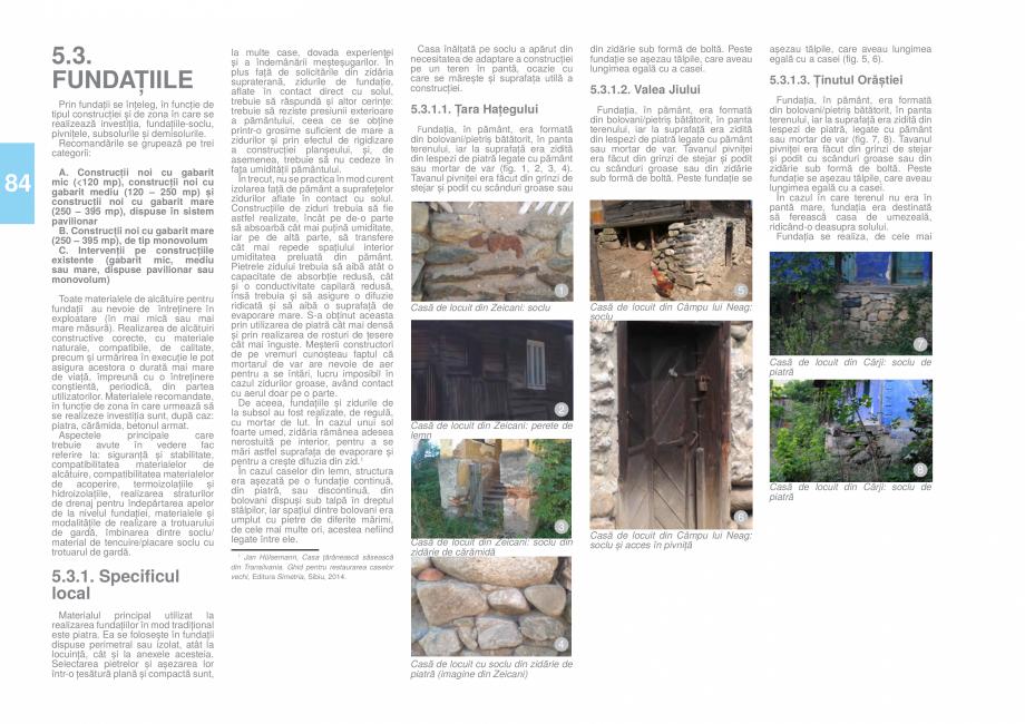 Pagina 85 - Zona Hunedoara - Ghid de arhitectura pentru incadrarea in specificul local din mediul...