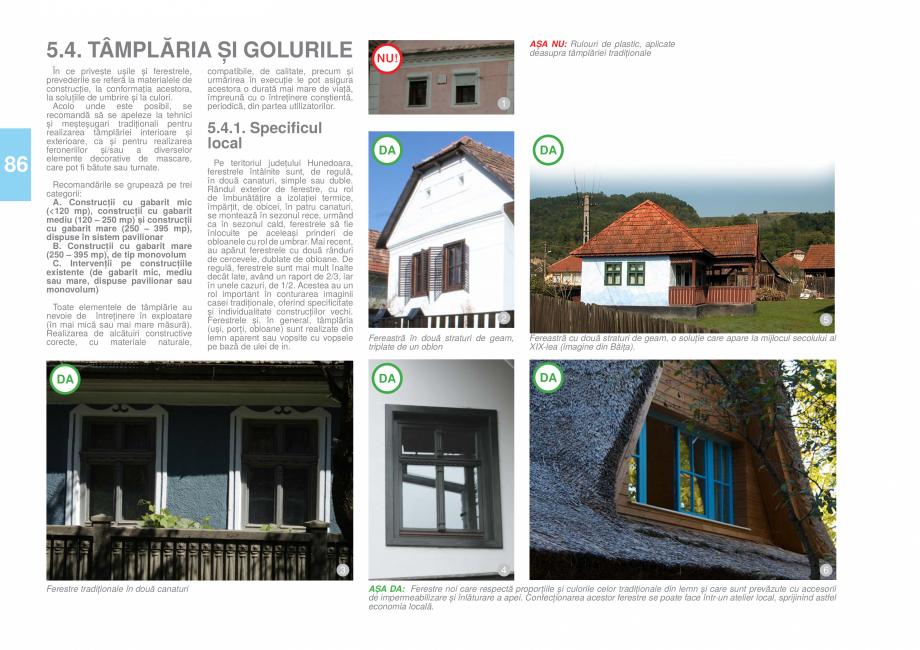 Pagina 87 - Zona Hunedoara - Ghid de arhitectura pentru incadrarea in specificul local din mediul...
