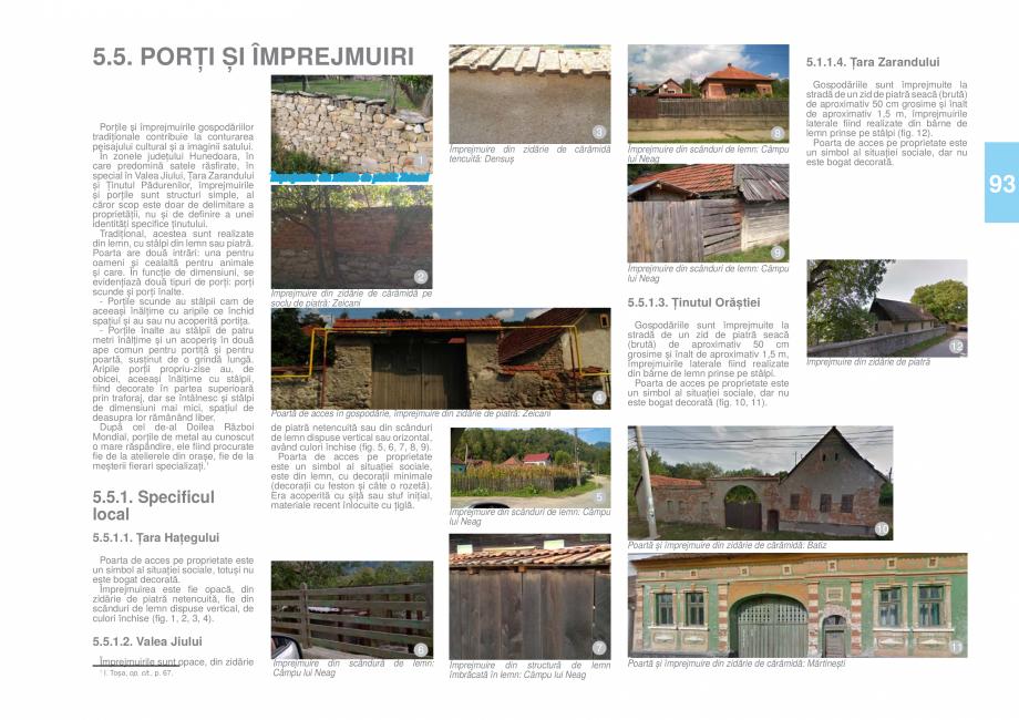 Pagina 94 - Zona Hunedoara - Ghid de arhitectura pentru incadrarea in specificul local din mediul...