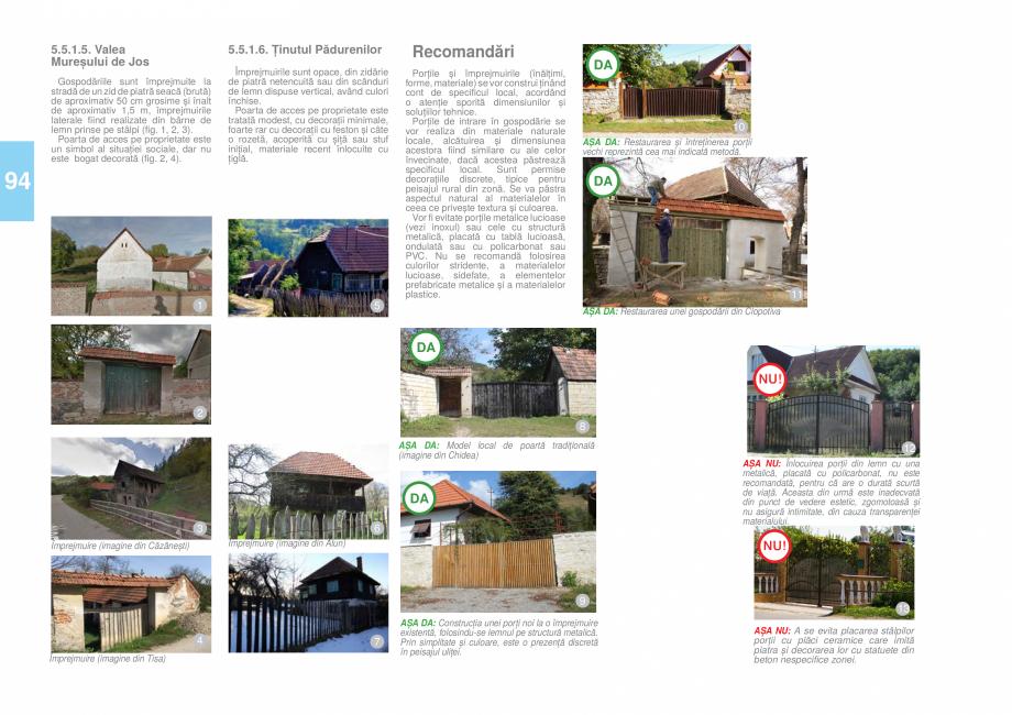 Pagina 95 - Zona Hunedoara - Ghid de arhitectura pentru incadrarea in specificul local din mediul...