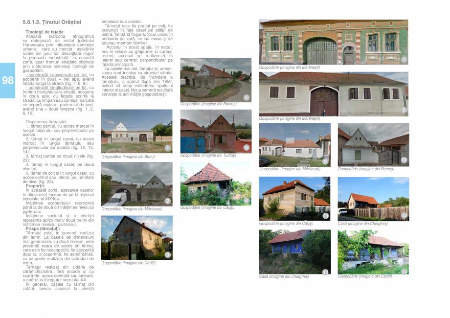 Pagina 99 - Zona Hunedoara - Ghid de arhitectura pentru incadrarea in specificul local din mediul...
