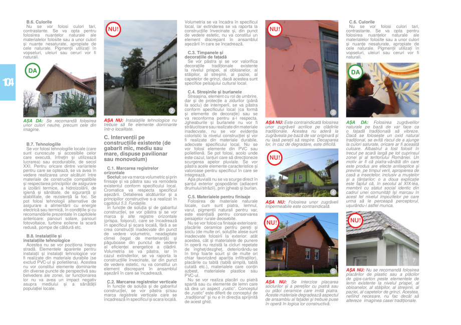 Pagina 105 - Zona Hunedoara - Ghid de arhitectura pentru incadrarea in specificul local din mediul...