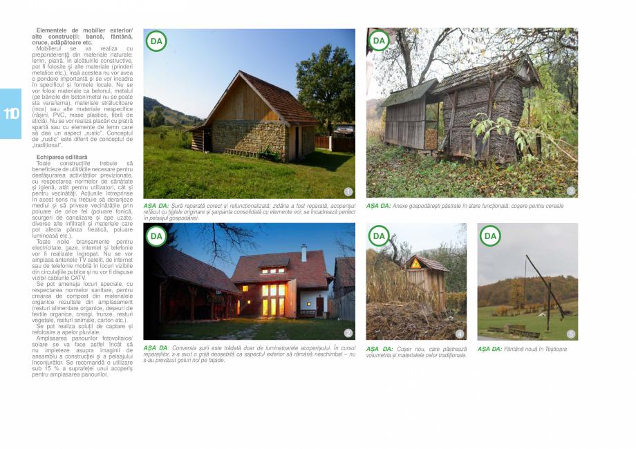 Pagina 111 - Zona Hunedoara - Ghid de arhitectura pentru incadrarea in specificul local din mediul...