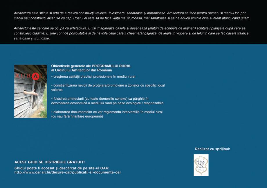 Pagina 123 - Zona Hunedoara - Ghid de arhitectura pentru incadrarea in specificul local din mediul...