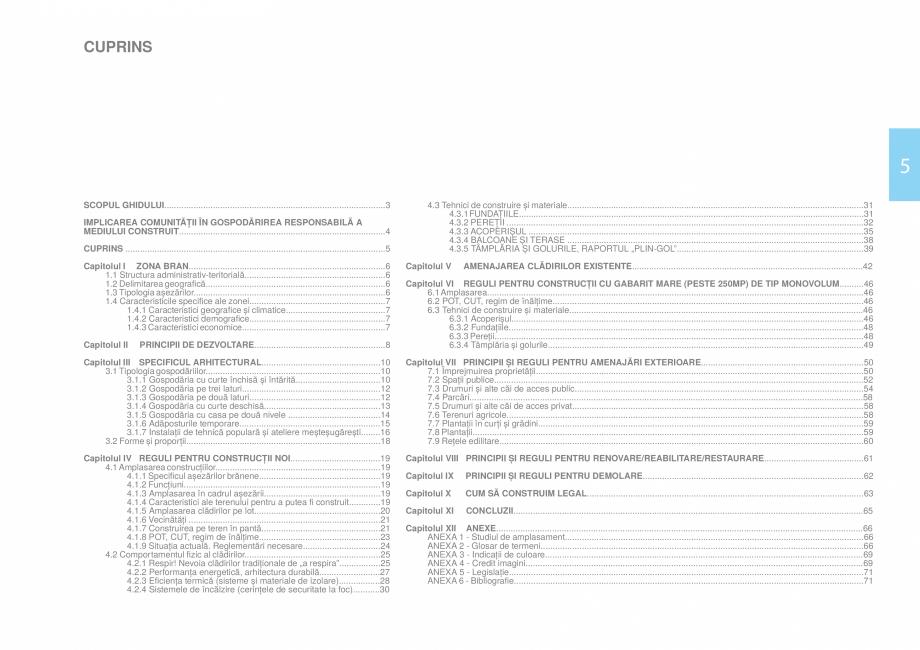 Pagina 7 - Zona Bran - Ghid de arhitectura pentru incadrarea in specificul local din mediul rural   ...