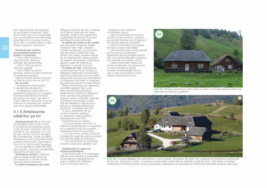 Pagina 22 - Zona Bran - Ghid de arhitectura pentru incadrarea in specificul local din mediul rural  ...