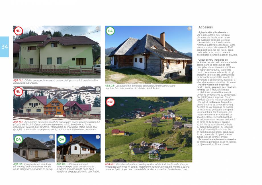 Pagina 36 - Zona Bran - Ghid de arhitectura pentru incadrarea in specificul local din mediul rural  ...