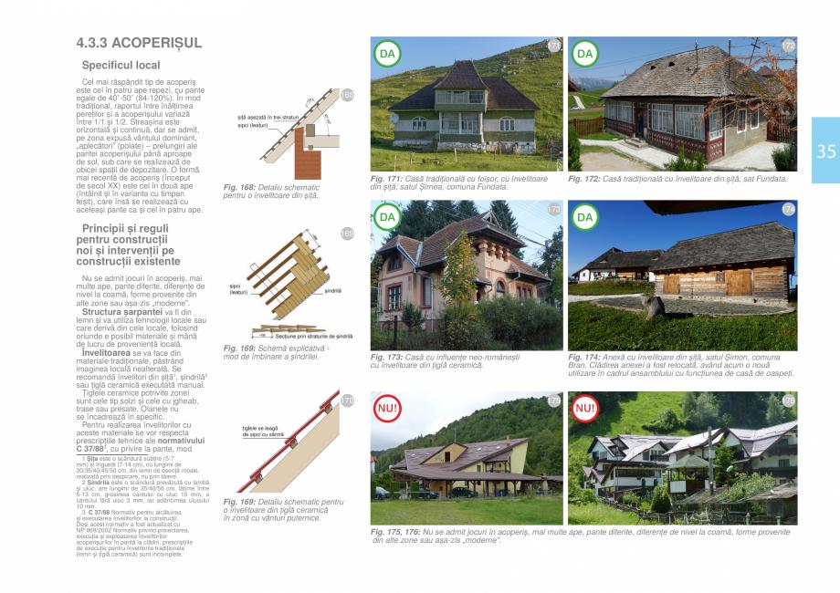 Pagina 37 - Zona Bran - Ghid de arhitectura pentru incadrarea in specificul local din mediul rural  ...